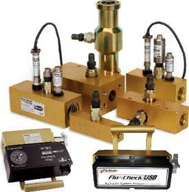 Flo-tech hydraulic diagnostic products